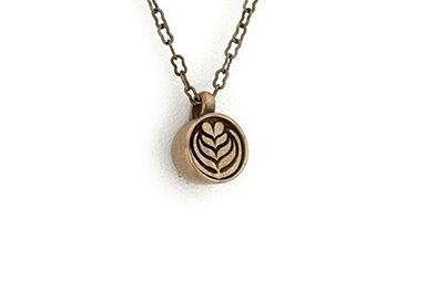 Perk Tulip Pendant - Bronze