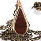 Drop Pendant - Bronze