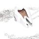Bronze Tooth Pendant - Katalox