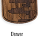 Denver Skyline Dog Tags
