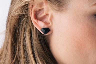 Diamond Earrings - Wild Olive