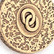 Bronze Jackalope Amulet