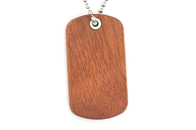 Bloodwood Dog Tags