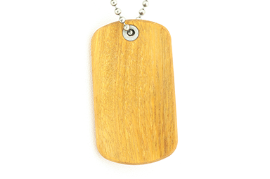 Osage Orange Dog Tag