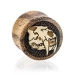 Saber-Tooth Tiger Skull