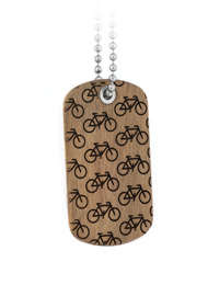 Bike More Dog Tag