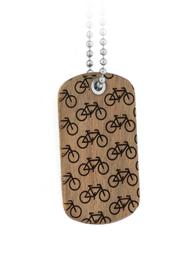 Bike More Dog Tag