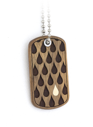 Drops Dog Tag