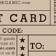 Shipped Gift Card