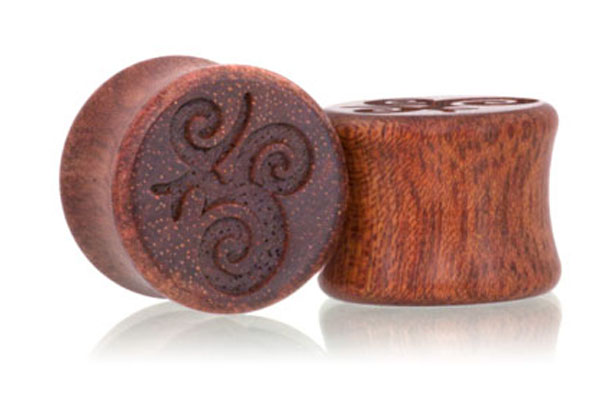 Ohm Plugs - Bloodwood