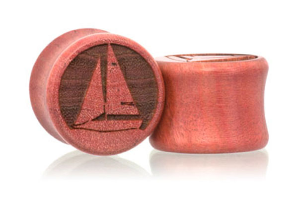 Even Keel Sailboat Plugs - Pink Ivory
