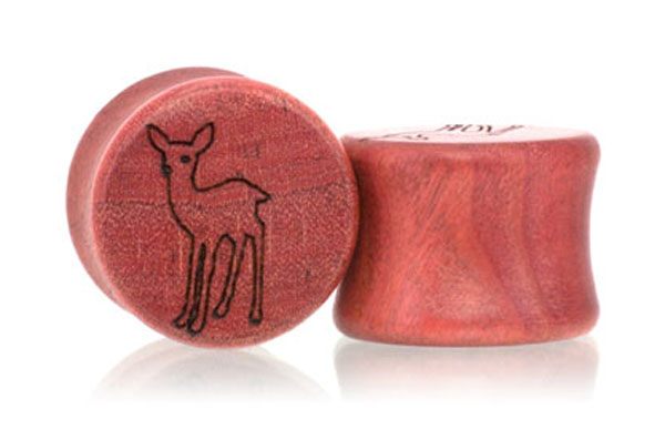 Fawn Plugs - Pink Ivory