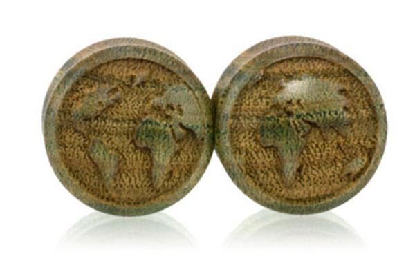 Convex Globe Plugs - Vera