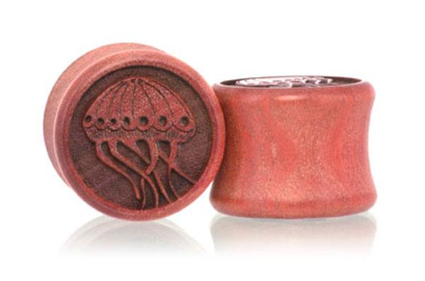 Jellyfish Plugs - Pink Ivory