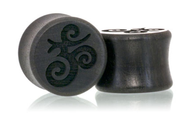 Ohm Plugs - Ebony