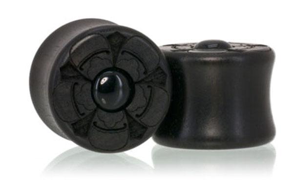 Ebony / Onyx Lotus Plugs
