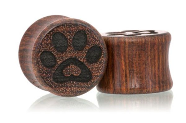 Puppy Love Paw Print Plugs - Chechen