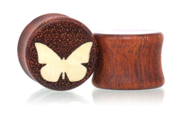 Butterfly Plugs - Bloodwood