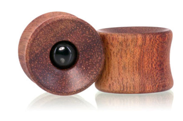 Bloodwood / Onyx Con. Plugs