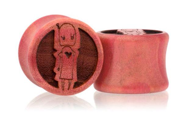 Robotsons Plugs - Pink Ivory