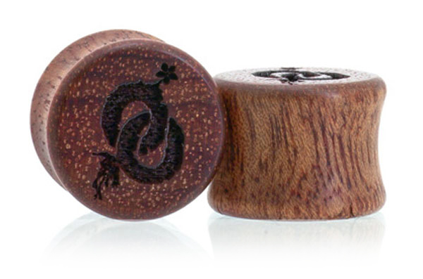 Oo Roots Plugs - Bloodwood