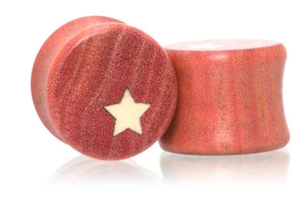 Side Star Plugs - Pink Ivory