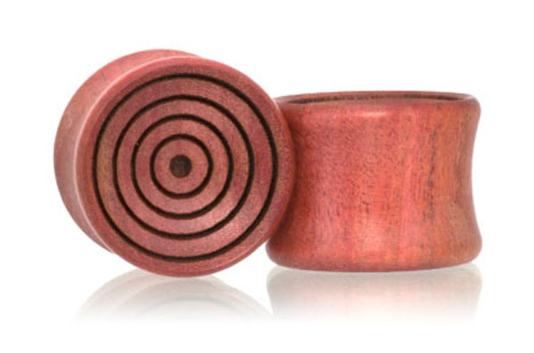Vortex Plugs - Pink Ivory