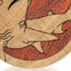 Hammerhead Shark Plugs - Curly Maple