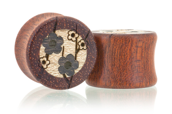 Cherry Blossom Plugs - Bloodwood