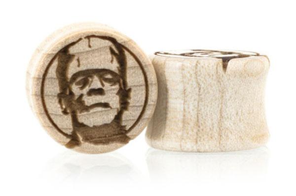 Frankenstein's Monster Plugs - Maple