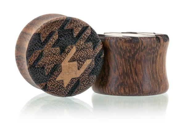 Houndstooth Pattern Plugs - Chechen