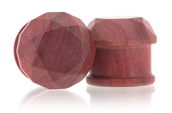 Jewel Plugs - Pink Ivory