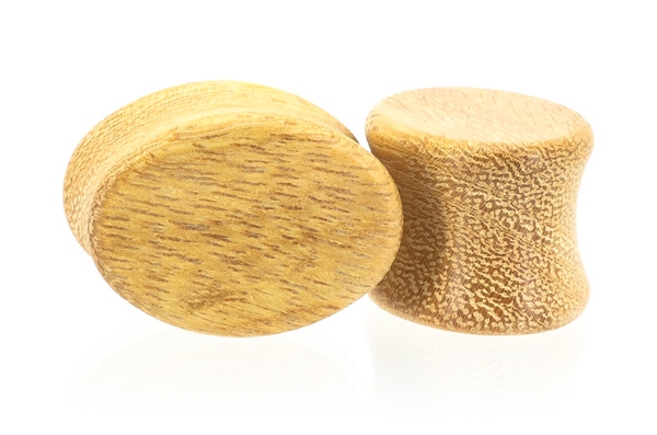 Osage Orange Oval Plugs