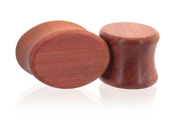 Pink Ivory Oval Plugs