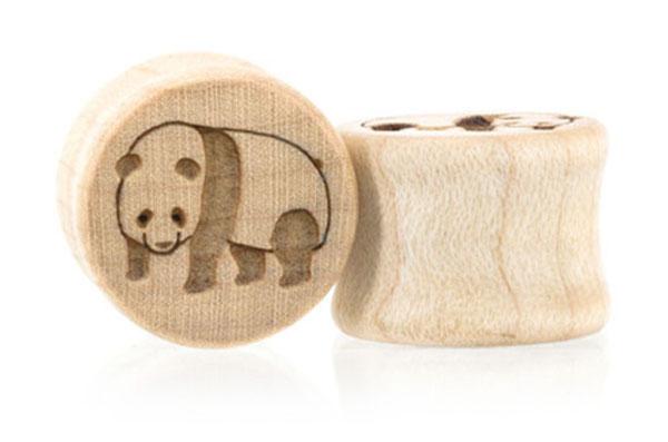 Panda Plugs - Maple