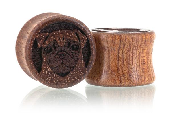 Pug Plugs - Bloodwood