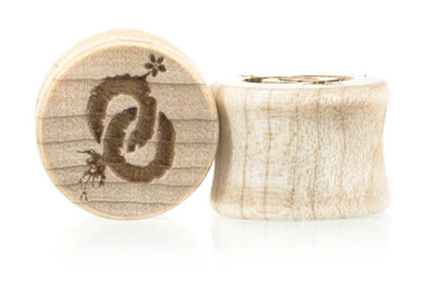Oo Roots Plugs - Maple