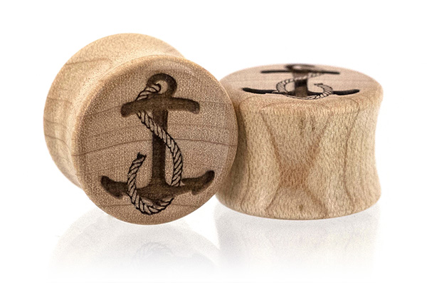 Anchor Plugs - Maple