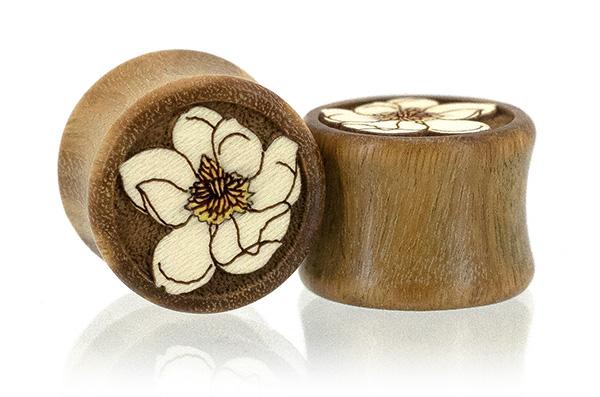 Magnolia Flower Plugs