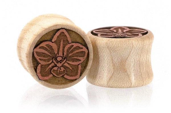 Orchid Flower Plugs - Curly Maple