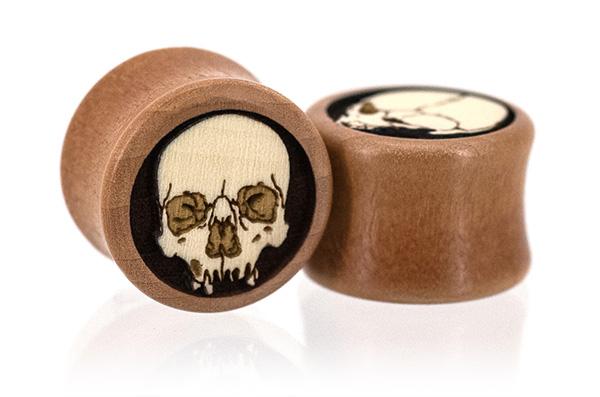 Ossuary Skull Plugs