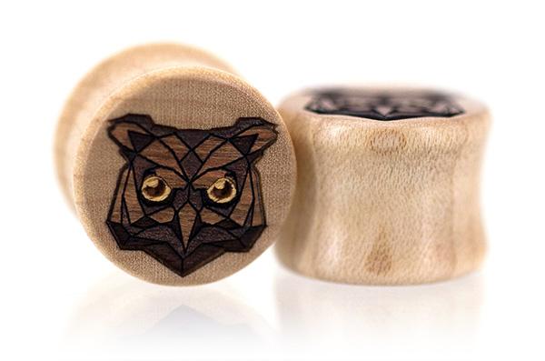 Owl Tangranimal Plugs