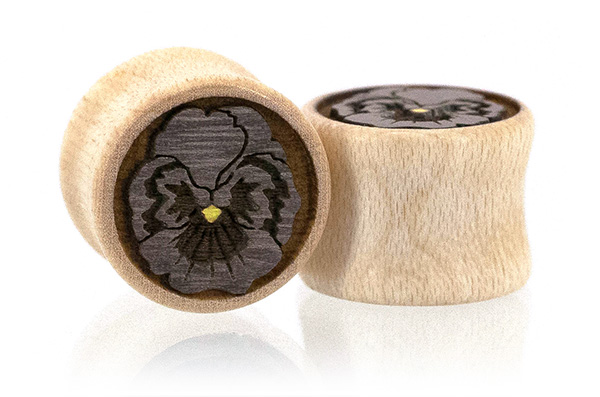 Pansy Flower Plugs - Curly Maple