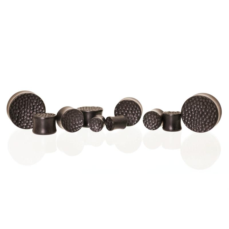 El Martillo Plugs - Ebony - Concave