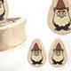 Gnome Teardrop Plugs