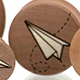 Paper Airplane Plugs