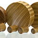 Verawood Concave Plugs