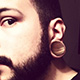 Pink Ivory Concave Plugs