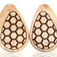 Honeybee Teardrop Plugs