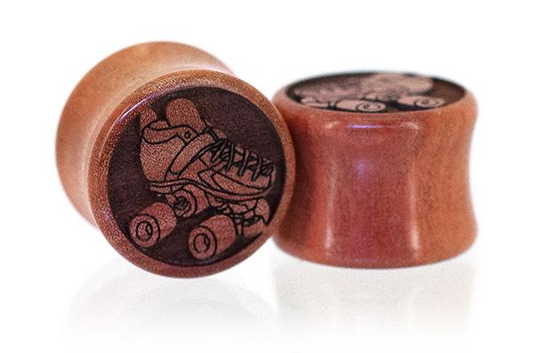 Roller Skate Plugs- Pink Ivory
